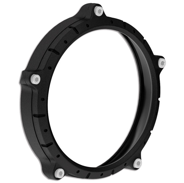 Roland Sands Design Chrono Black Ops Headlight Bezel
