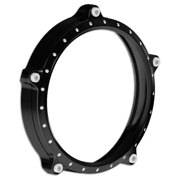 Roland Sands Design Tracker Contrast Cut Headlight Bezel