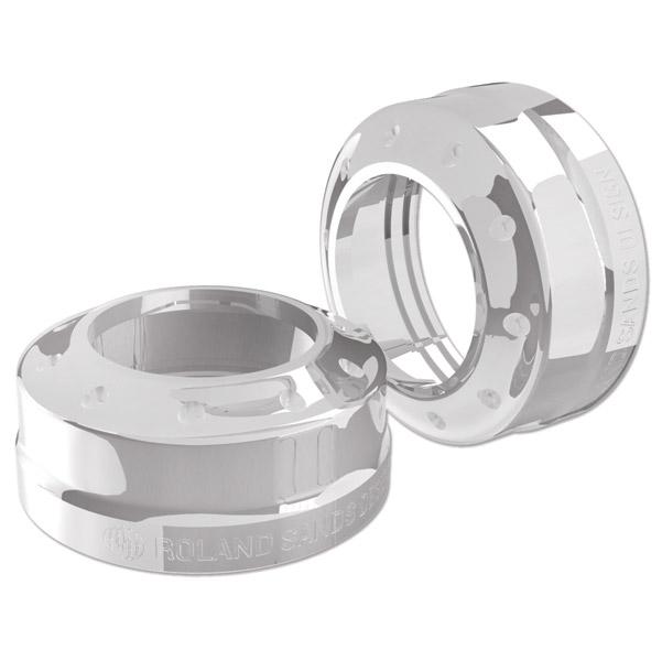 Roland Sands Design Tracker Chrome 41mm Fork Dust Caps
