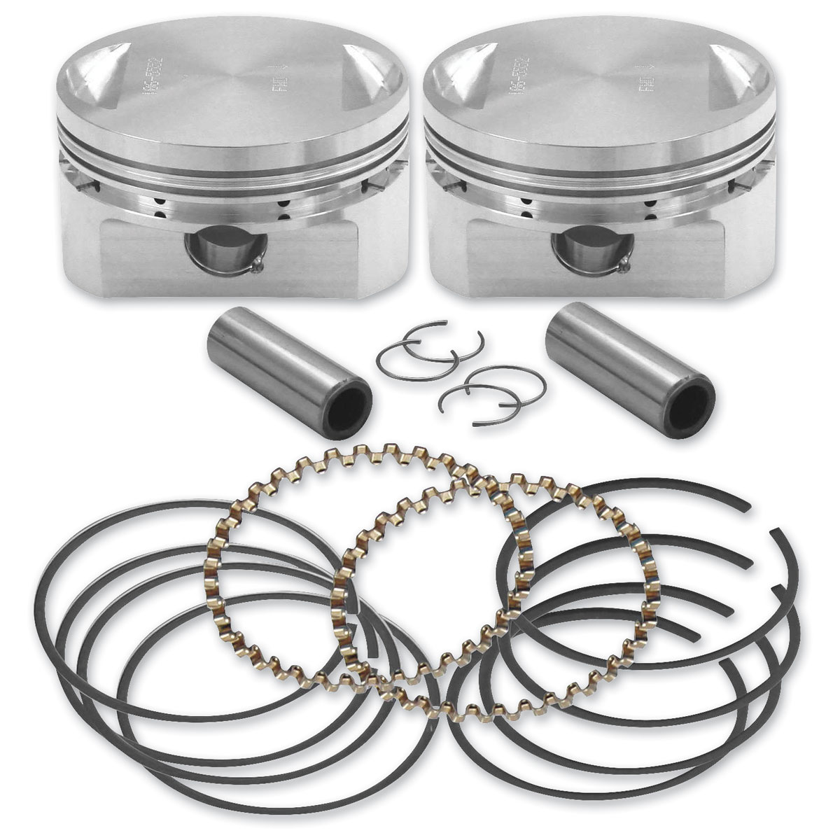 S&S Cycle Forged Piston Set 3-1/2