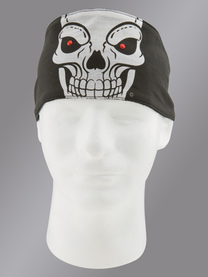 Chop Top Skull Extreme with Rhinestones Doo Wrap