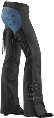 ICON Women's Hella Leather Chaps