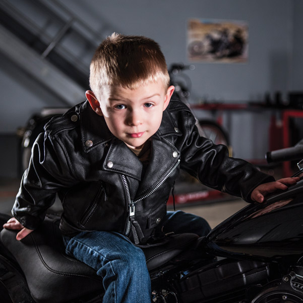 Child/Youth Motorcycle Jacket from The Interstate Leather Kids' Collection