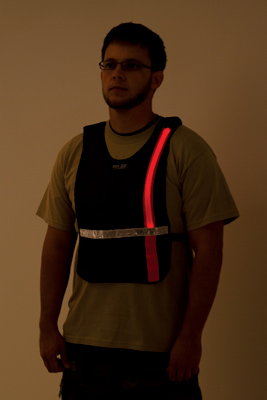 LED Illuminated Sport Vest