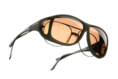Cocoons Aviator X-Large Black Frame Sunglasses