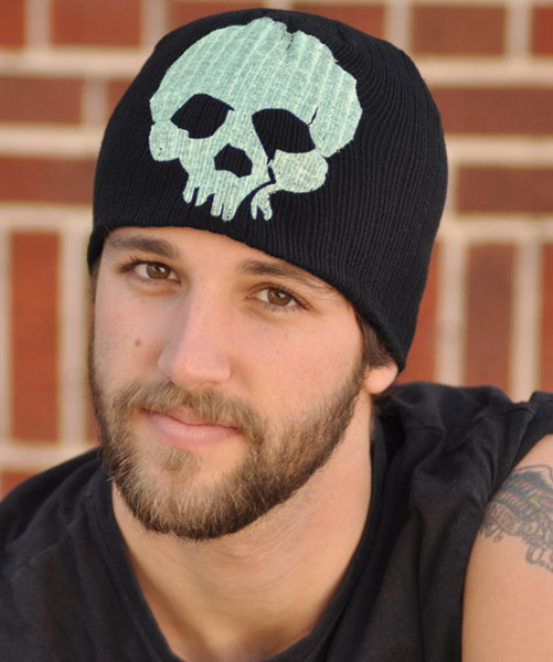 Glow in the Dark Skull Beanie