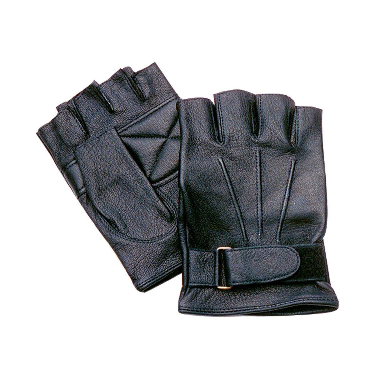 Fingerless Goatskin Gloves
