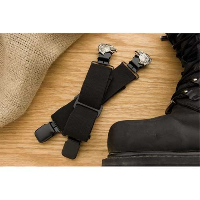 Faarken Inc. Eagle Head Biker Stirrups