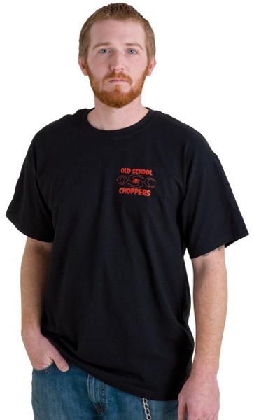 Biker Trash Men's Vengeance Black T-Shirt