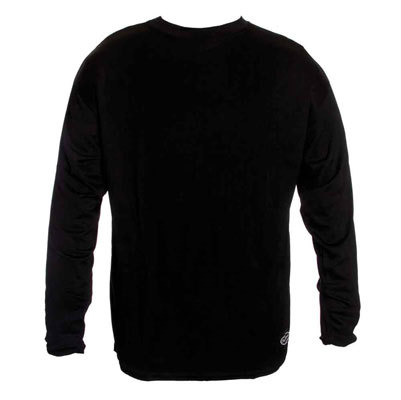 Schampa Men's CoolSkin Skinny Base Layer Black Shirt