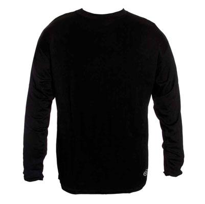 Schampa Men's CoolSkin Skinny Base Layer Black Shirt