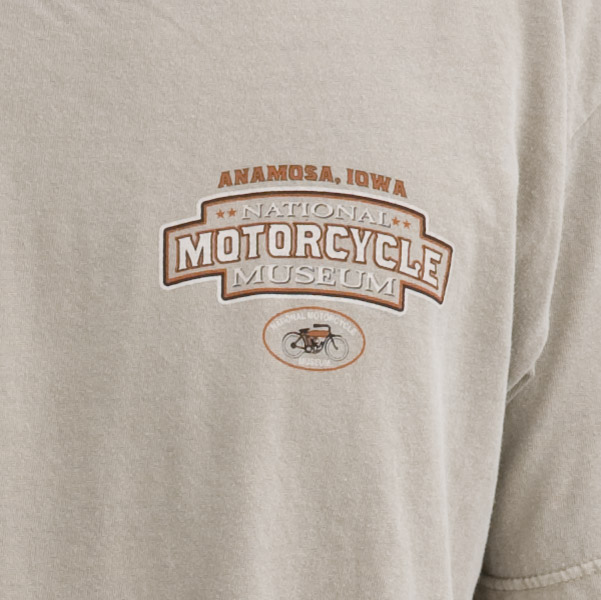 National Motorcycle Museum Shield T-shirt