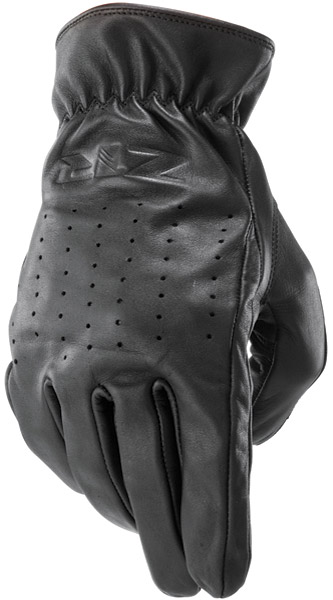 Z1R Leather Streamline Cruiser Gloves