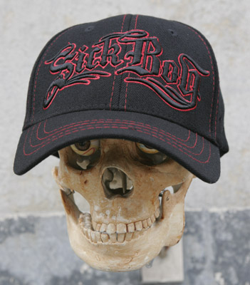 Sick Boy Raised Embroidery Fitted Hat