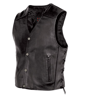 Milwaukee Motorcycle Clothing Co. Men's Joker Vest
