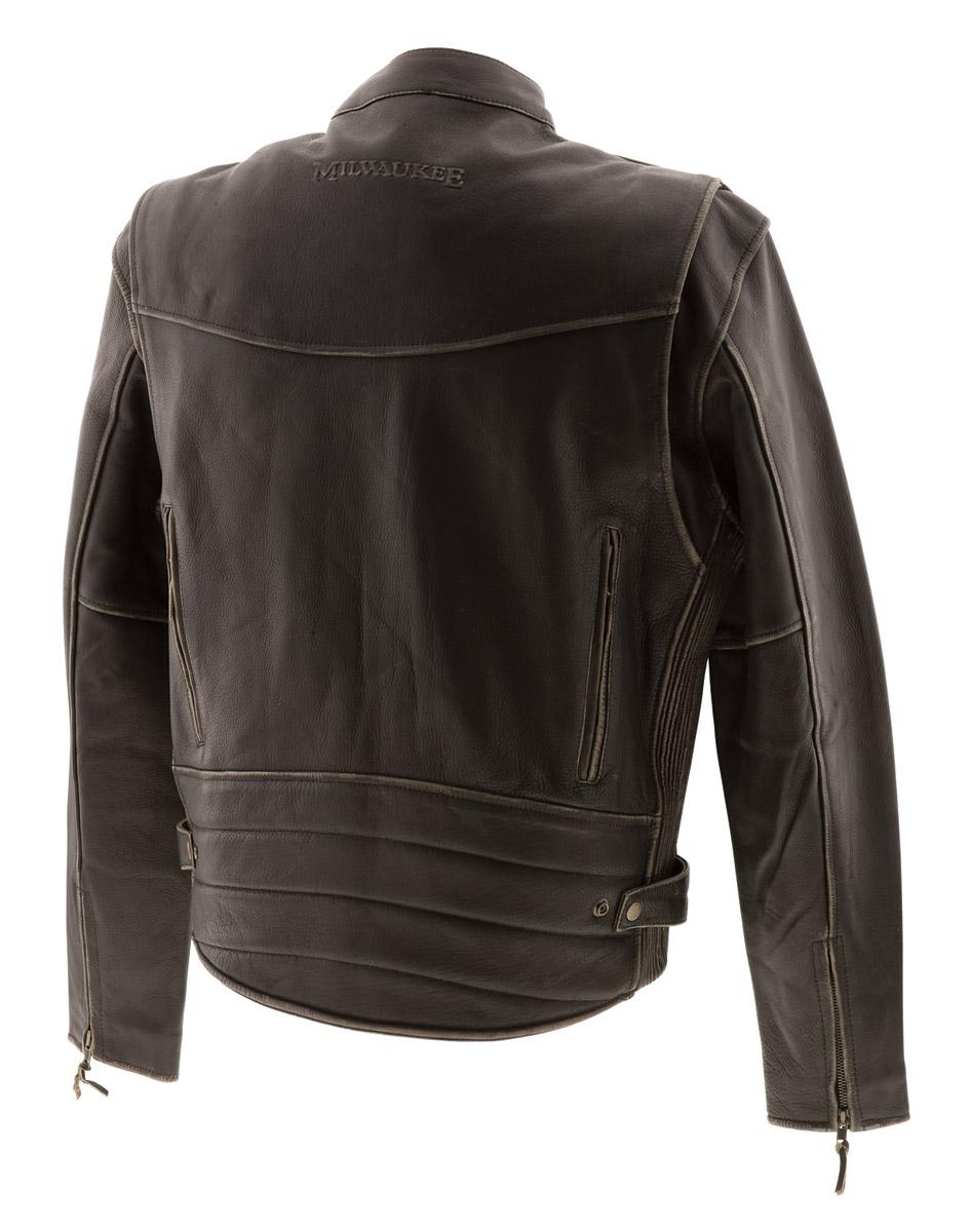 Milwaukee leather motorcycle jacket