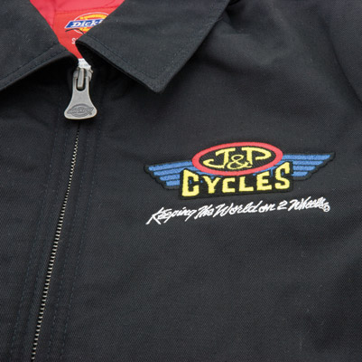 J&P Cycles® Embroidered Logo Men's Jacket