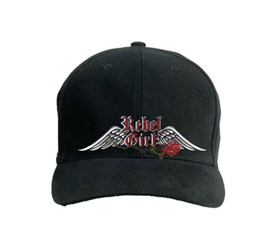 Rebel Girl Flex Fit Cap