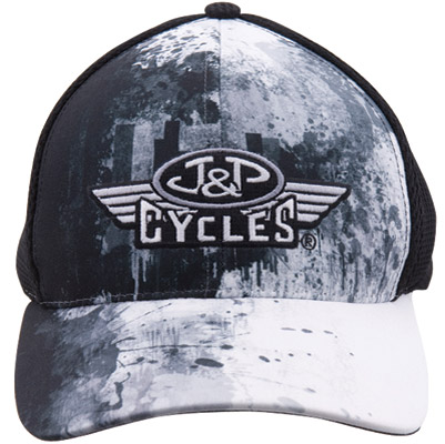 J&P Cycles® Soft Mesh Embroidered Hat