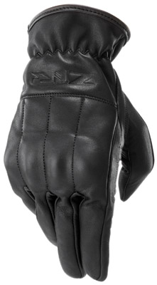 Z1R Leather Reaper Cruiser Gloves