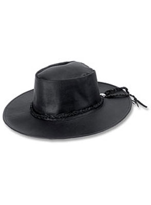 Carroll Leather Down Under Cap