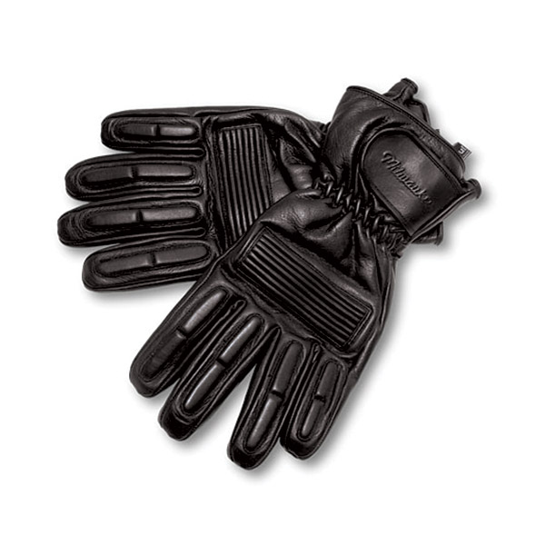 Milwaukee Motorcycle Clothing Co. Leather Riding Gloves