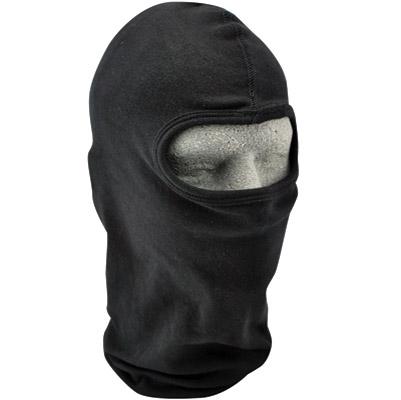 ZAN headgear Solid Black Cotton Balaclava