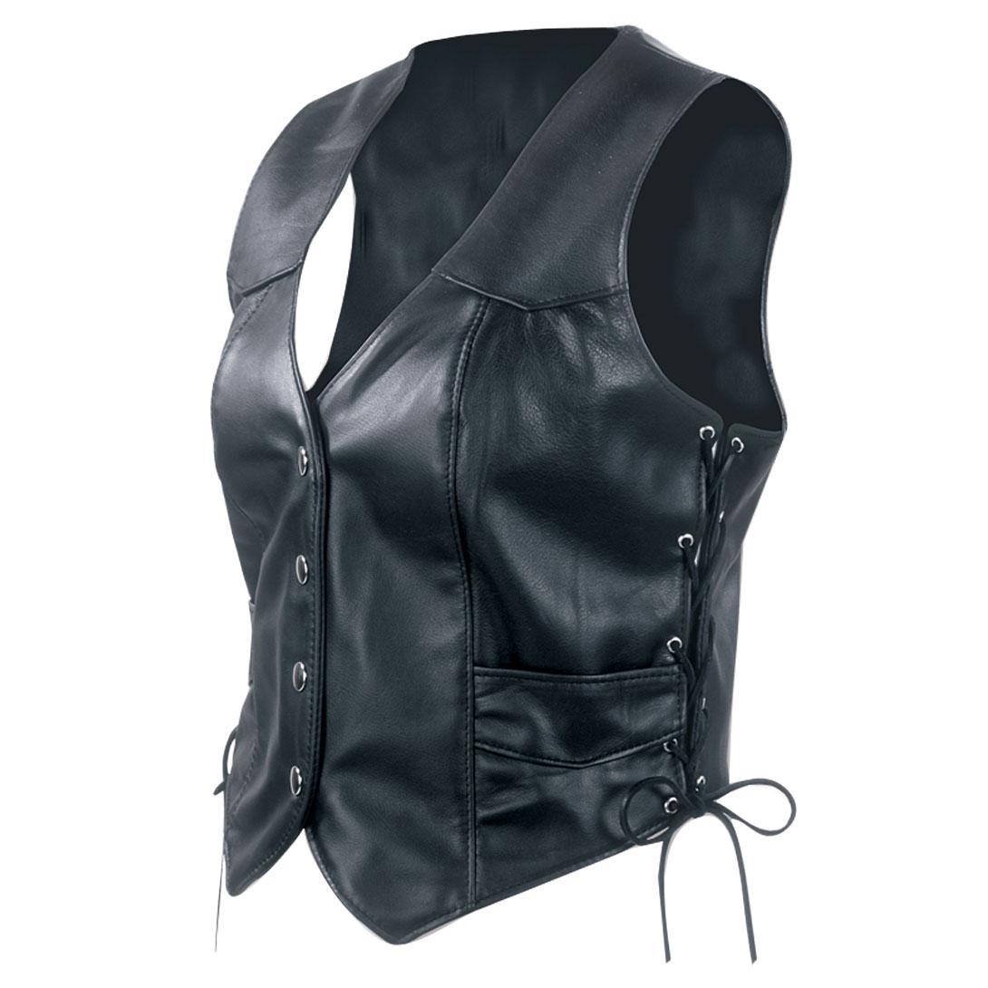 Interstate Leather Women's Scarlett Leather Vest