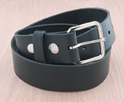 Eagle Leather Black Leather Belt