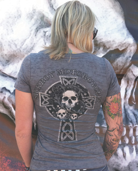 Women's Sick Boy Burnout Tee