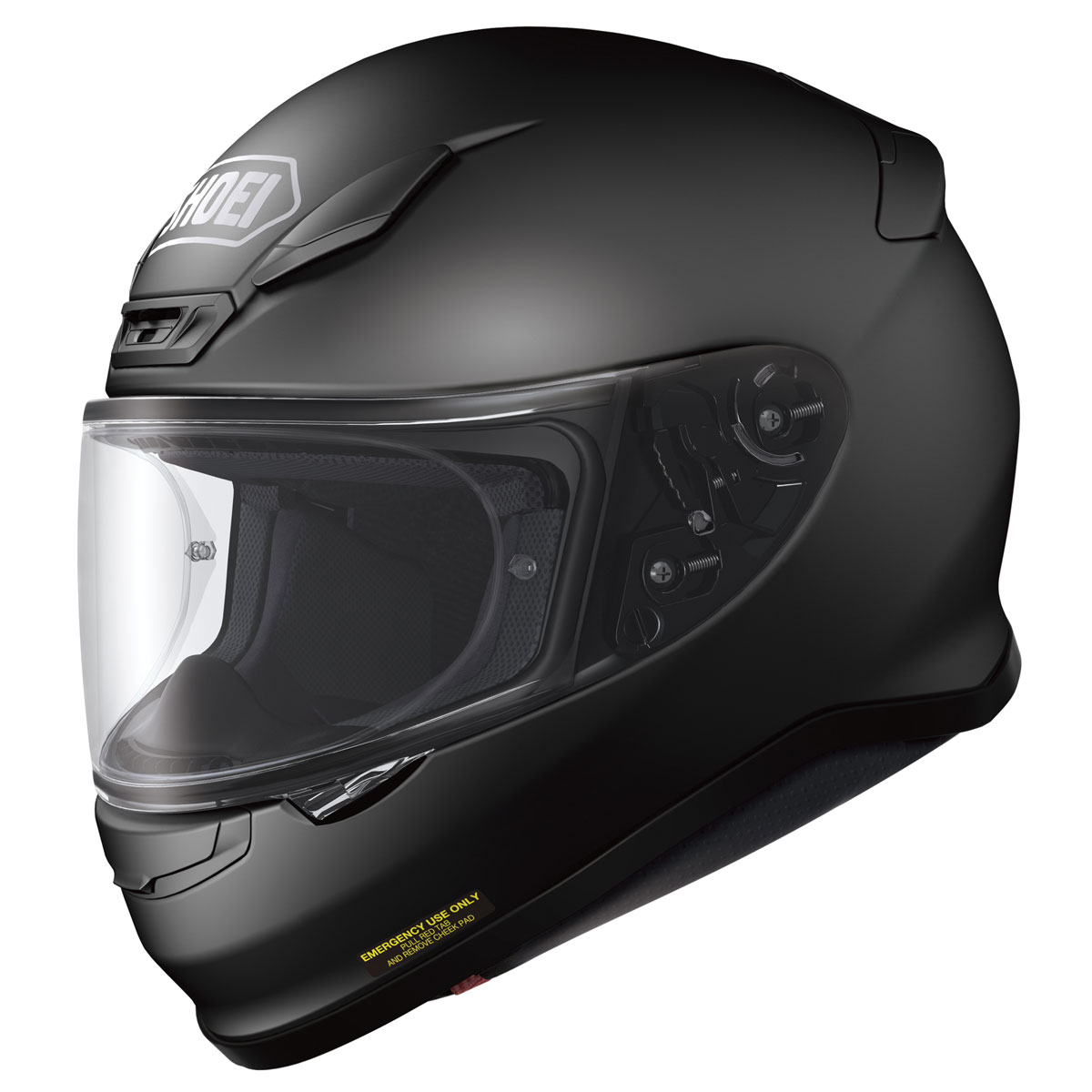 Shoei RF-1200 Matte Black Full Face Helmet