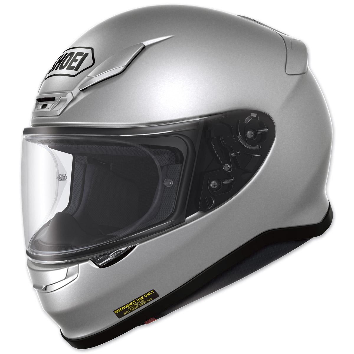Shoei RF-1200 Light Silver Full Face Helmet