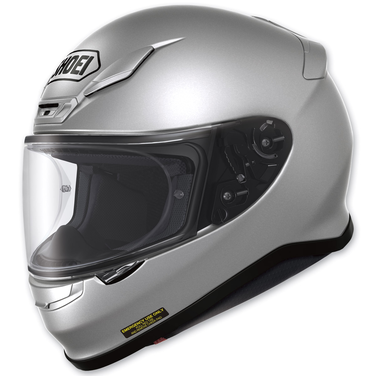 Shoei RF-1200 Light Silver Full Face Helmet