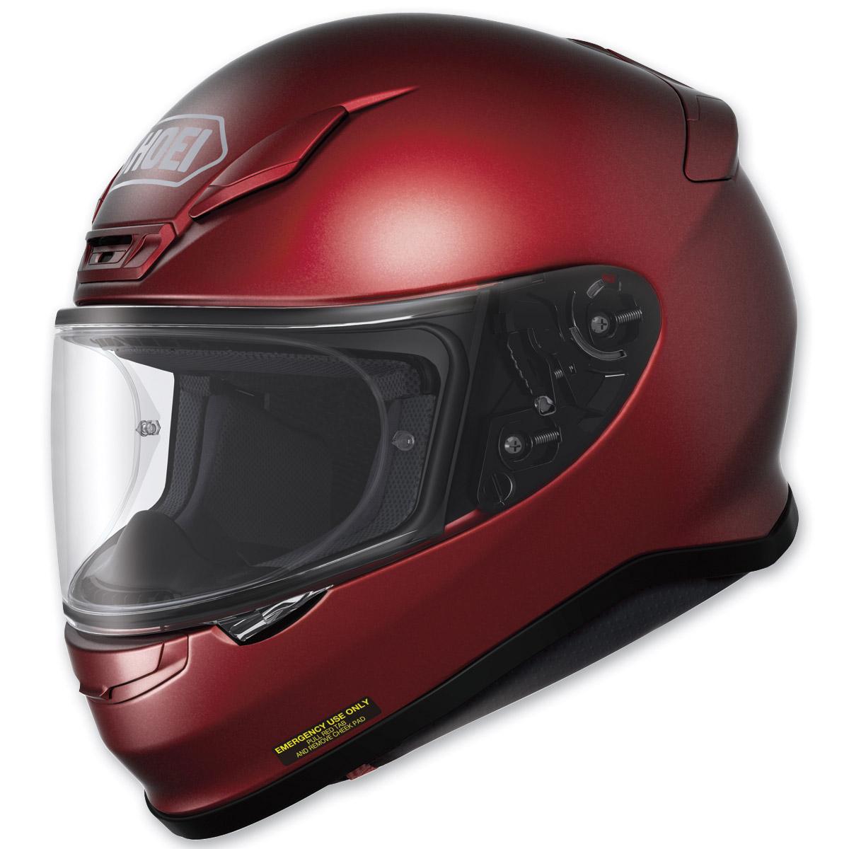 Shoei RF-1200 Wine Red Full Face Helmet