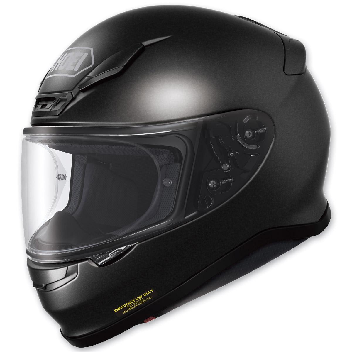 Shoei RF-1200 Black Metallic Full Face Helmet
