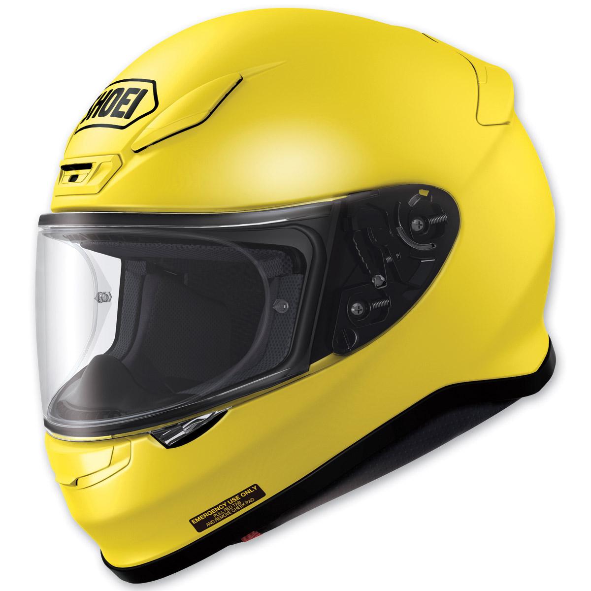 Shoei RF-1200 Brilliant Yellow Full Face Helmet