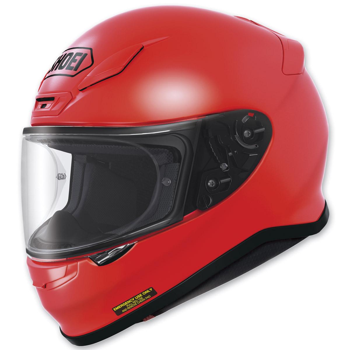 Shoei RF-1200 Shine Red Full Face Helmet