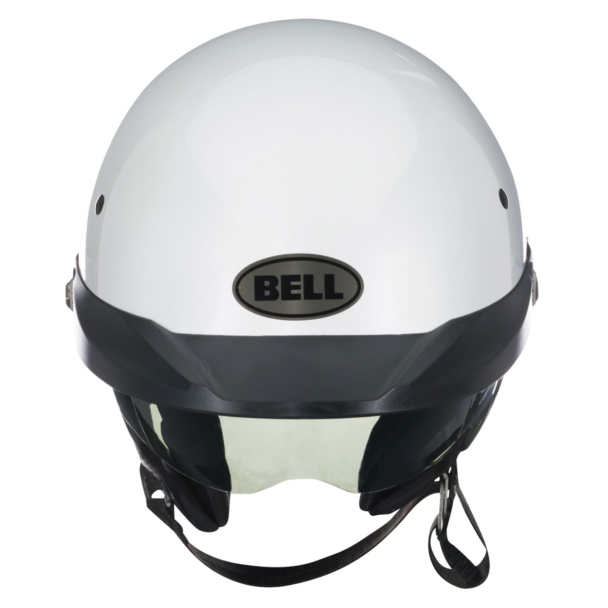 Bell Pit Boss White Open Face Helmet