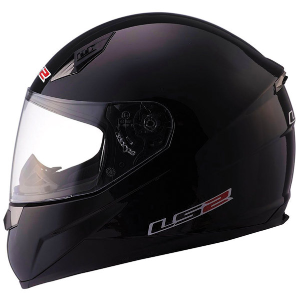 LS2 FF384 Black Full Face Helmet