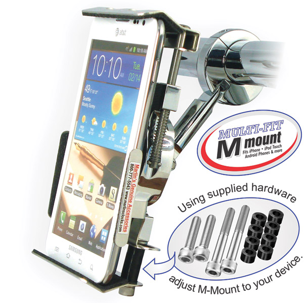 Marlin's Multi-Fit M Mount for Smart Cell Phone and GPS's
