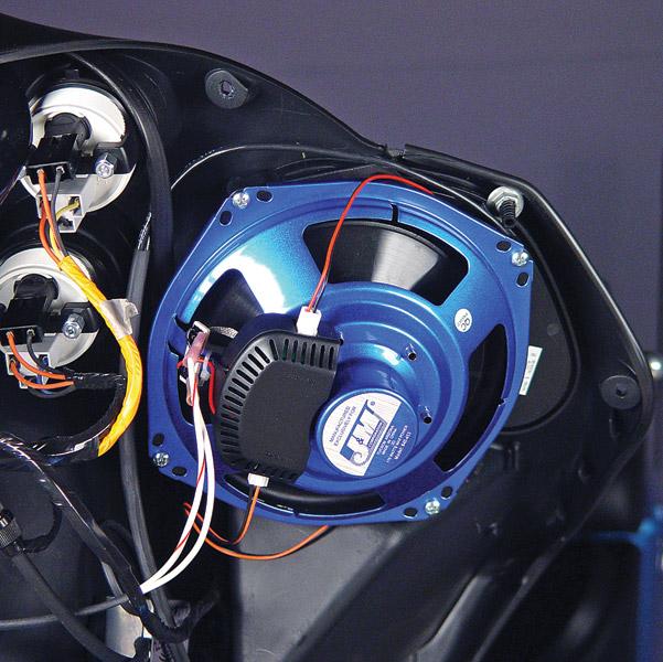 J&M Fairing Speaker Adapter Plate Kit