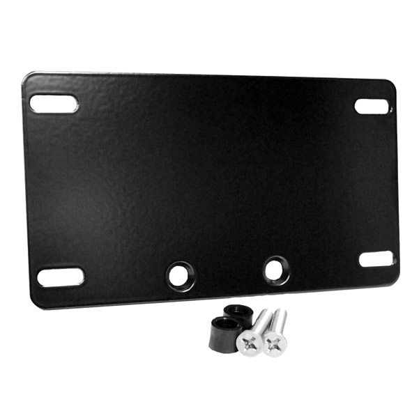 Whitewall Choppers Black License Plate Mount