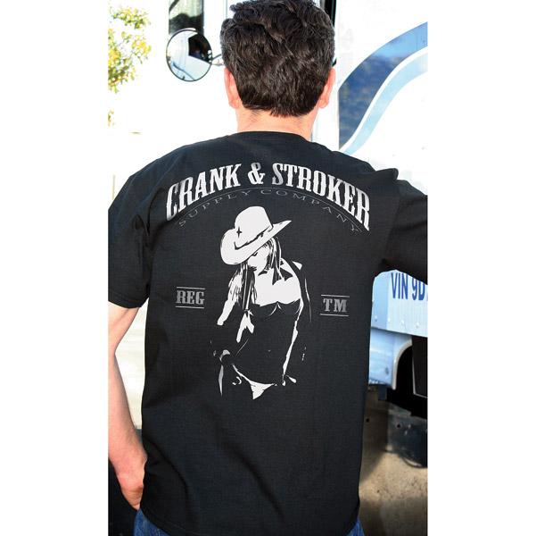 Crank & Stroker Supply Men's Cowgirl Sheriff Black ...
