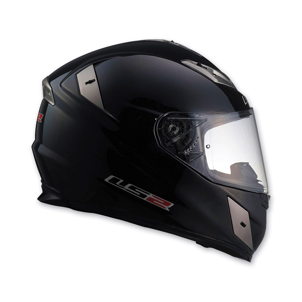 LS2 FF359 Black Full Face Helmet