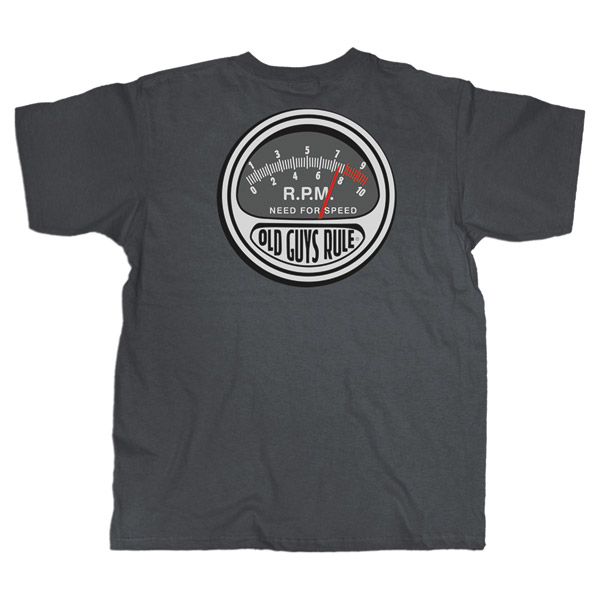 Old Guys Rule Need for Speed T-shirt