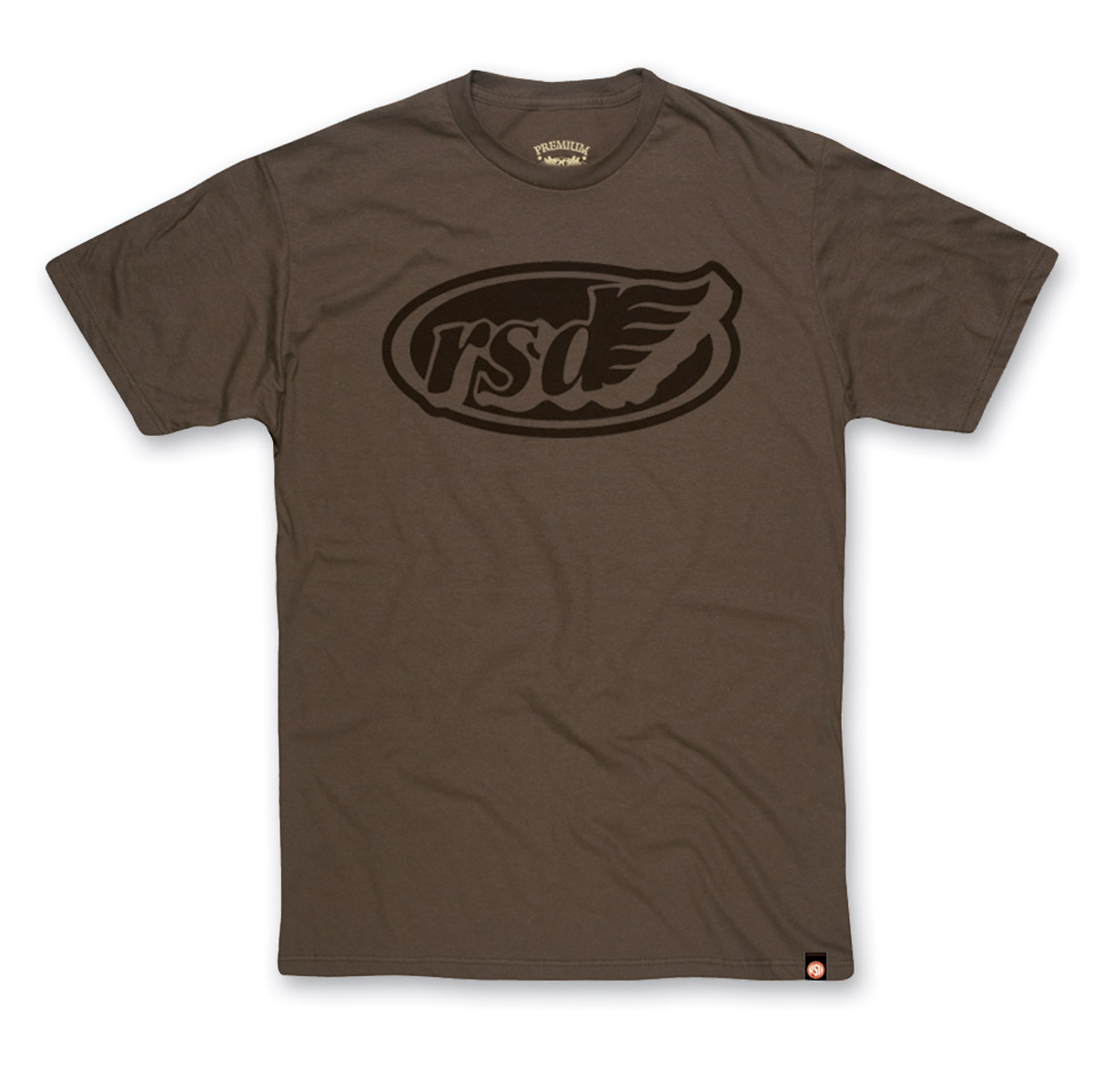 Roland Sands Design Cafe Wing Army Green T-shirt