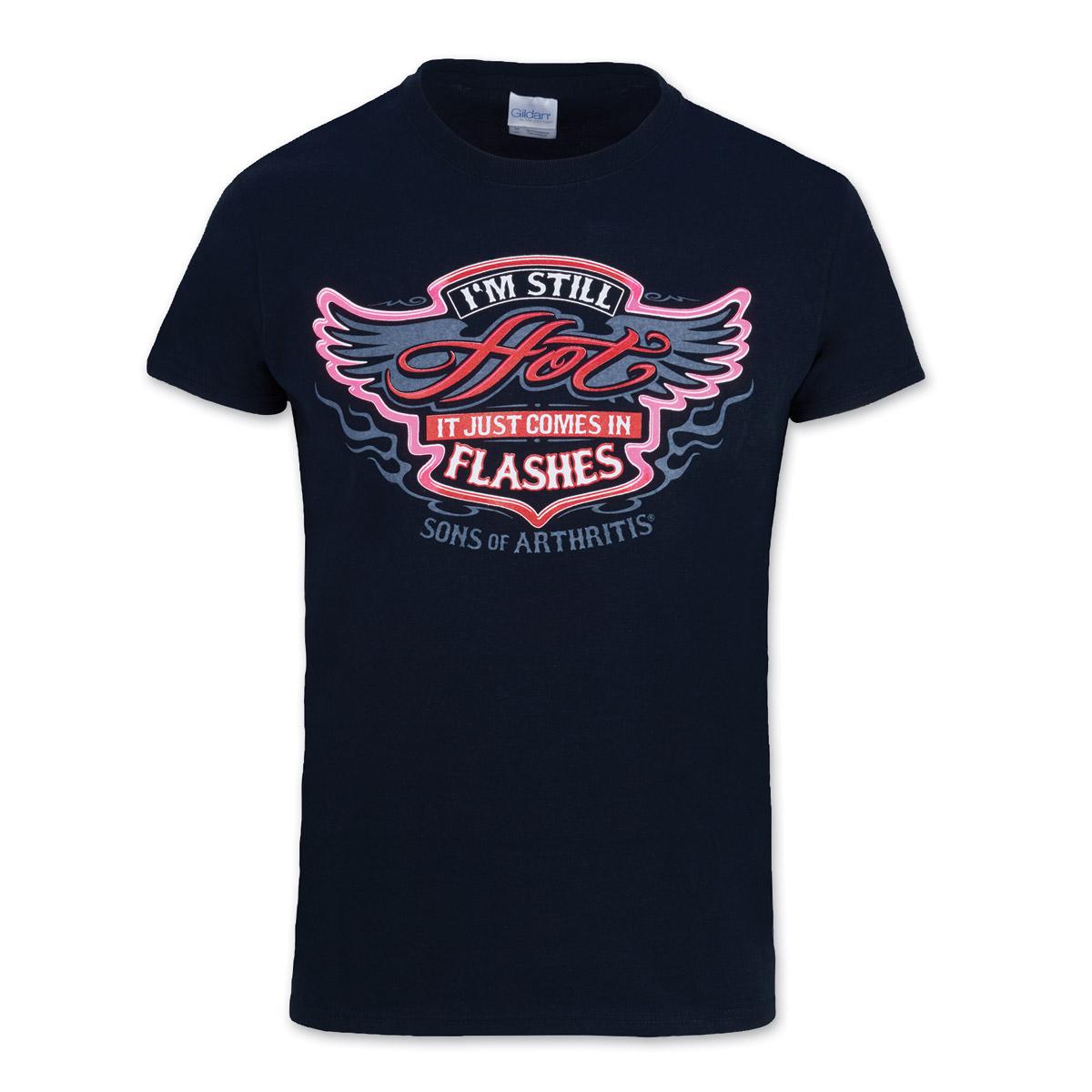 Sons of Arthritis Women's Still Hot T-Shirt