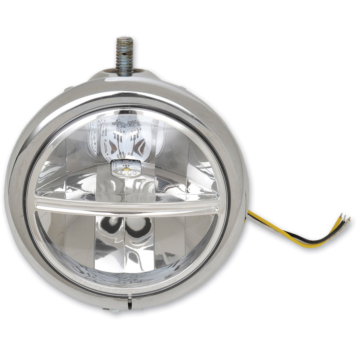 Drag Specialties LED 5-3/4″ Top Mount Headlight Assembly