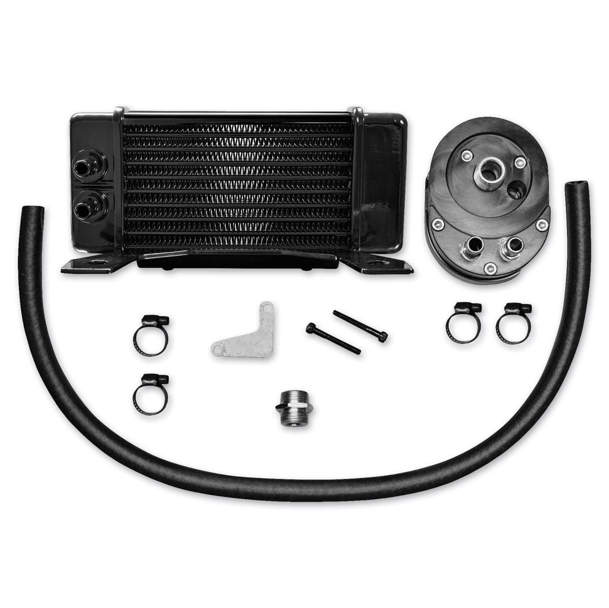 Jagg Horizontal Low-Mount Oil Cooler Kit