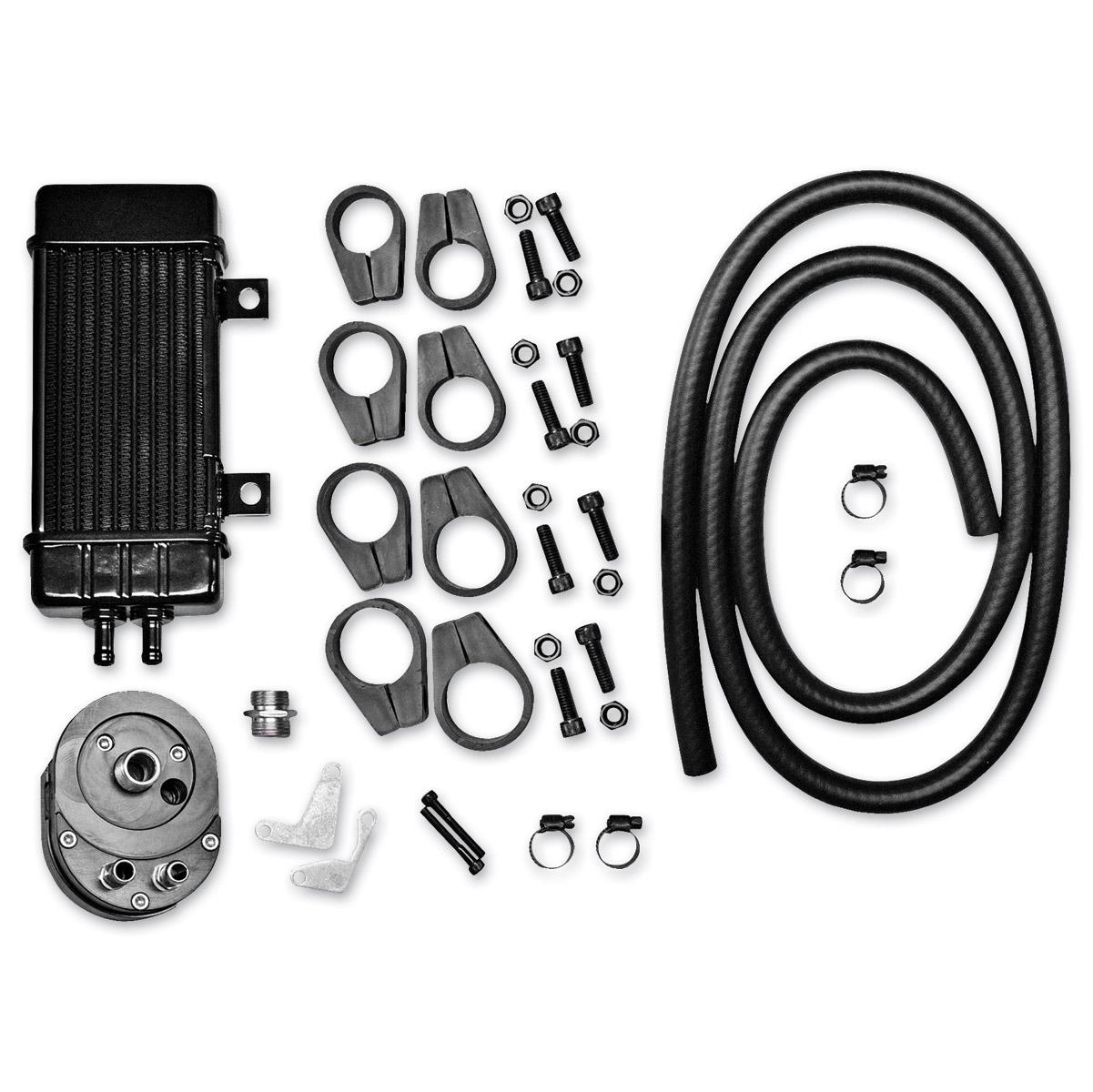 Jagg Vertical Frame-Mount Oil Cooler Kit